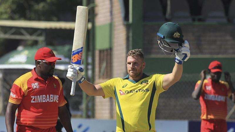 Aaron Finch has smashed his own record for the highest Twenty20 international score