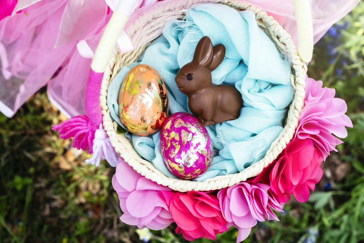You Ll Be Really Egg Cited About These Homemade Easter Basket Ideas