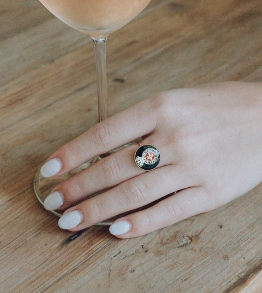 """<h2>Firenze Gucci Ring</h2><br>""""First of all, I never usually gift myself something on my birthday. This year has been a doozy so I did the whole treat yo self thing, typed in my card number, and didn't look back. Although one might say the cost doesn't break the bank, in a pandemic, a cute ring isn't a top priority, but I love it. <em>Obsessed</em>. I love wearing it while I work because I can be in full pajamas with a bun and no makeup, but the chicness of this ring makes me feel like a million bucks."""" – <a href=""""https://www.instagram.com/_saraclucas/?hl=en"""" rel=""""nofollow noopener"""" target=""""_blank"""" data-ylk=""""slk:Sara Lucas"""" class=""""link rapid-noclick-resp""""><em>Sara Lucas</em></a><em>, Senior Client Partner Coordinator</em><br><br><em>Shop <strong><a href=""""https://shop-lowell.com/collections/rings/products/firenze-gucci-ring"""" rel=""""nofollow noopener"""" target=""""_blank"""" data-ylk=""""slk:Lo Well"""" class=""""link rapid-noclick-resp"""">Lo Well</a></strong></em><br><br><strong>Lo Well</strong> Firenze Gucci Ring, $, available at <a href=""""https://go.skimresources.com/?id=30283X879131&url=https%3A%2F%2Fshop-lowell.com%2Fcollections%2Frings%2Fproducts%2Ffirenze-gucci-ring"""" rel=""""nofollow noopener"""" target=""""_blank"""" data-ylk=""""slk:Lo Well"""" class=""""link rapid-noclick-resp"""">Lo Well</a>"""