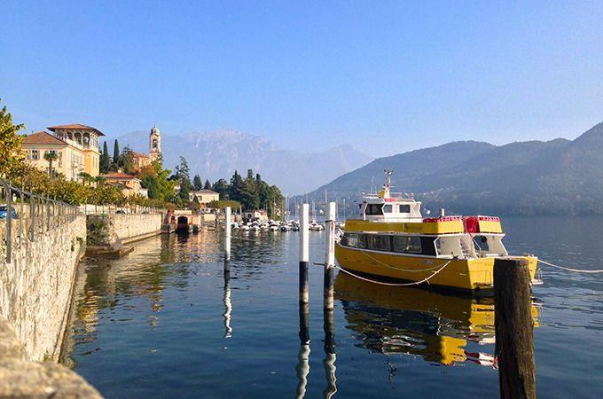 The famous Lake Como. Photo: Tracy Fitzgerald