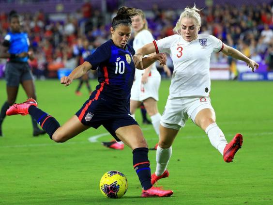 Carli Lloyd sealed victory for the USA with their second goal (Getty)