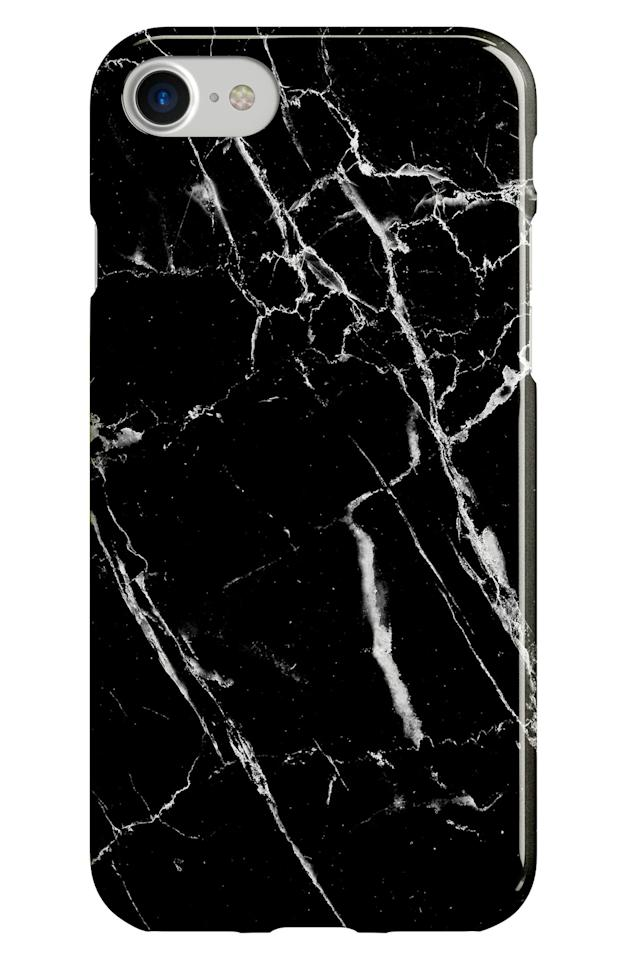 "<p>This sleek <a href=""https://www.popsugar.com/buy/Recover-Black-Marble-iPhone-66s78-Case-475692?p_name=Recover%20Black%20Marble%20iPhone%206%2F6s%2F7%2F8%20Case&retailer=shop.nordstrom.com&pid=475692&price=20&evar1=geek%3Aus&evar9=46455651&evar98=https%3A%2F%2Fwww.popsugartech.com%2Fphoto-gallery%2F46455651%2Fimage%2F46455661%2FRecover-Black-Marble-iPhone-66s78-Case&list1=tech%2Cshopping%2Ciphone%2Cphone%20cases&prop13=mobile&pdata=1"" rel=""nofollow"" data-shoppable-link=""1"" target=""_blank"" class=""ga-track"" data-ga-category=""Related"" data-ga-label=""https://shop.nordstrom.com/s/recover-black-marble-iphone-6-6s-7-8-case/4647987?origin=keywordsearch-personalizedsort&amp;breadcrumb=Home%2FAll%20Results&amp;color=black%20marble"" data-ga-action=""In-Line Links"">Recover Black Marble iPhone 6/6s/7/8 Case</a> ($20) is so cool.</p>"