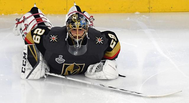 There's no doubting the importance Fleury has to the organization as a sort of goaltender-slash-spokesman, but it seems they put the latter title first in signing this contract. (Getty)