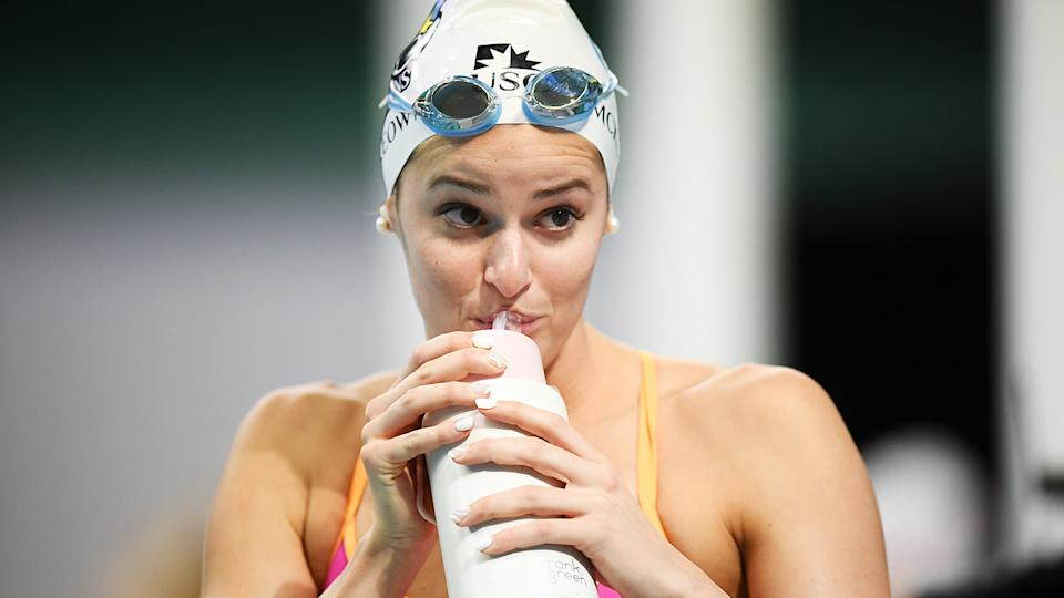 Kaylee McKeown set a new world record in the 100m backstroke ahead of the Tokyo Olympics. (Photo by Mark Brake/Getty Images)