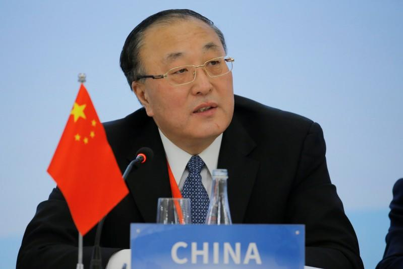 Chinese envoy slams U.S. comments on Xinjiang