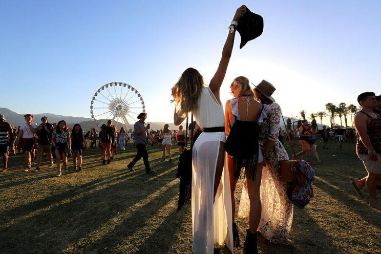Coachella is one heck of an event that everyone should experience, but you have to be prepared. (Photo: Getty)