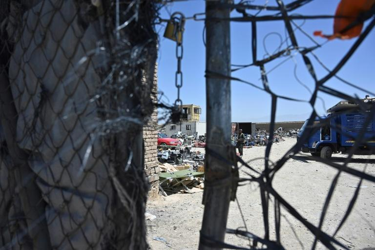The Pentagon is vacating Bagram air base as part of the US troop withdrawal from Afghanistan, and tons of civilian equipment is being scrapped