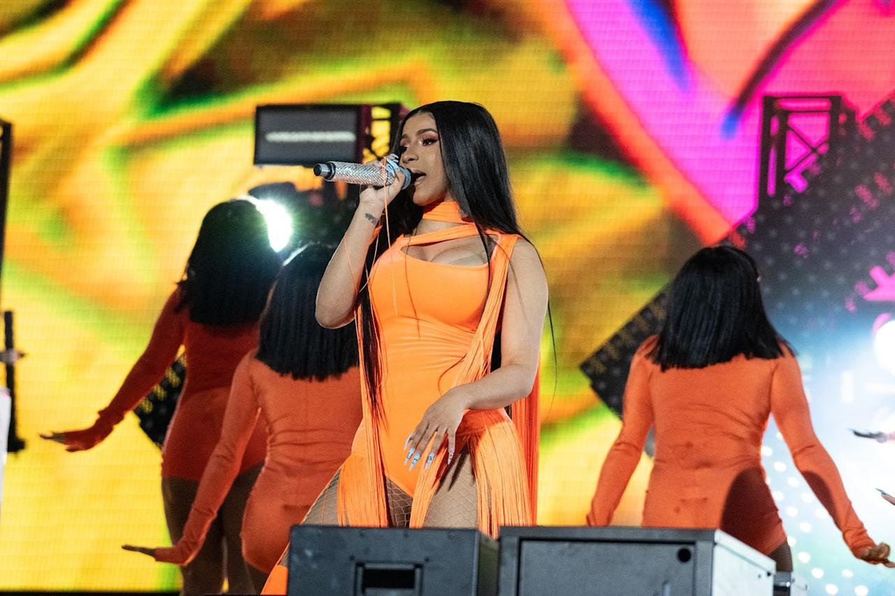 "<p>Born Belcalis Marlenis Almánzar, Cardi B became the first woman to take home a Grammy for Best Rap Album with her 2018 studio debut <em>Invasion of Privacy</em>. This came two years after ""Bodak Yellow"" hit #1 on the Billboard Hot 100 chart, making her the first female rapper to do so since 1998.</p>"