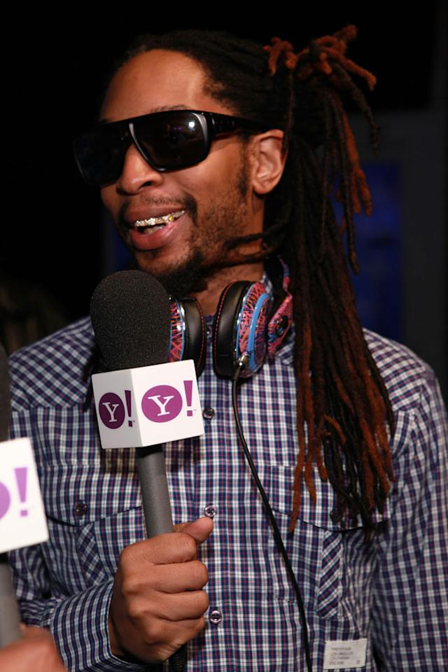 Lil Jon talks to Yahoo! before his performance at the Bud Light Hotel in Indianapolis.