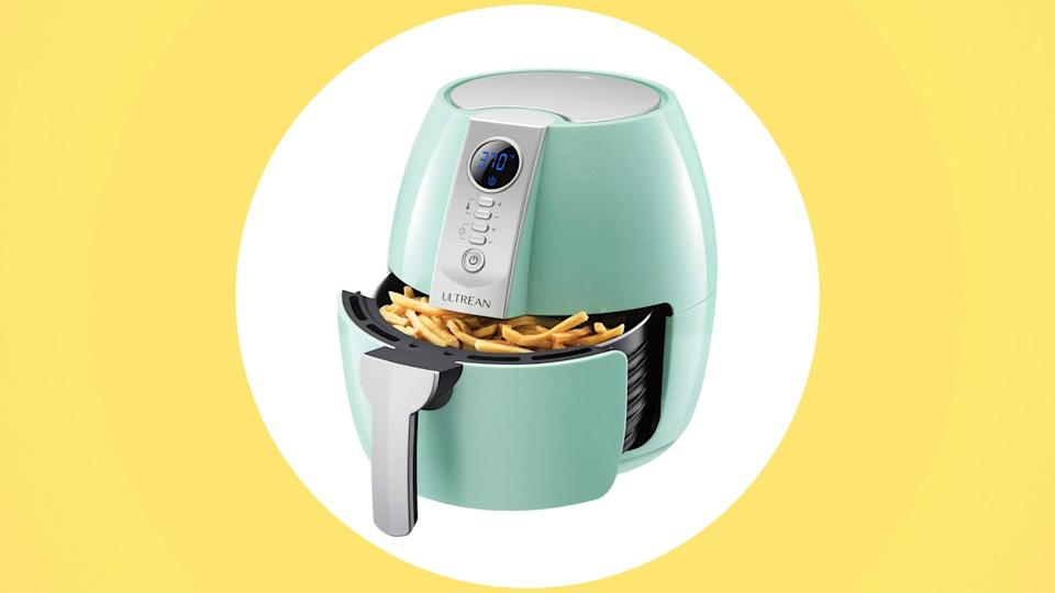 The Ultrean 4.2 quart Air Fryer is on sale for $90 (originally $150).