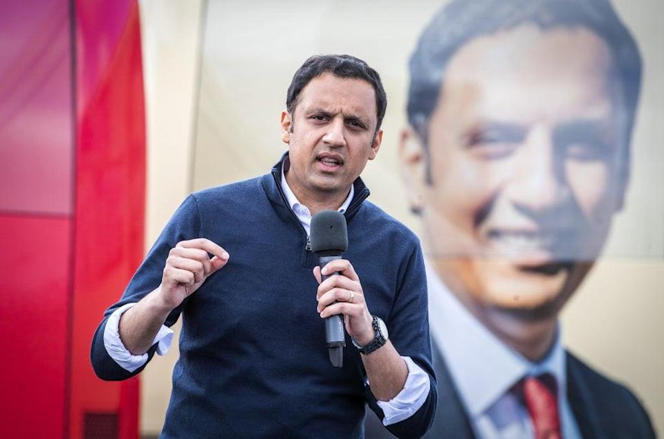Anas Sarwar said Scotland was 'the first red wall to fall' (Jane Barlow/PA) (PA Wire)