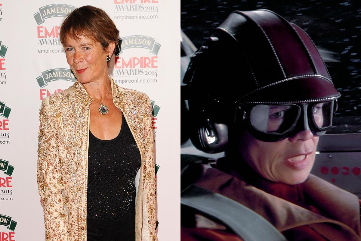 <p>A stalwart of British film and television, Celia Imrie is fondly remembered for her appearances opposite Victoria Wood in shows like 'Dinnerladies' and 'Acorn Antiques'. She played a Naboo pilot in 'Phantom Menace', the first female fighter pilot seen on-screen in the 'Star Wars' films. </p>