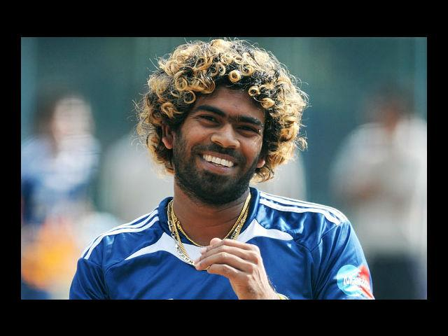 5) Lasith Malinga:  This Sri Lankan cricketer can carry off golden curls and still manage to look dangerously intimidating. He sometimes multi-braid it up and pull it back into a fierce look, which gets further enhanced by his pierced bows. Thank god for his outstanding bowling skills which reminds us about his profession, or else he could be easily mistaken as a rockstar.