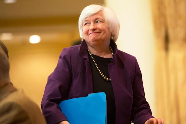 Wednesday officially marked the end of Janet Yellen's tenure at the top of the Federal Reserve.