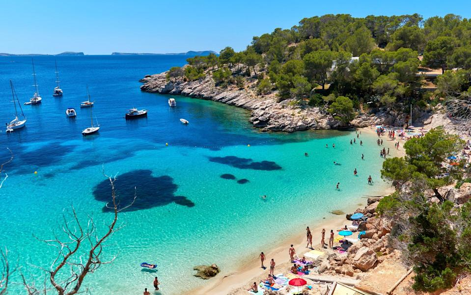 """""""Spain will be ready to reopen to the world very soon,"""" tourism minister Reyes Maroto told reporters last week - Getty"""