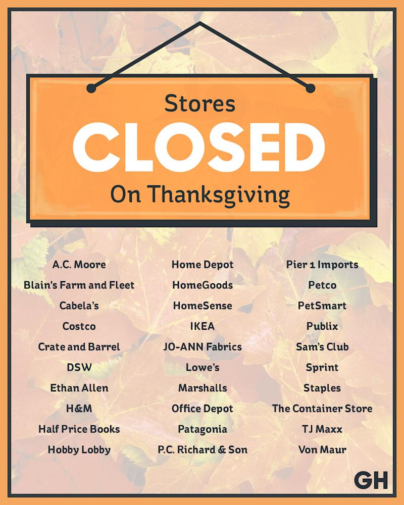 Shoe Stores Open On Thanksgiving