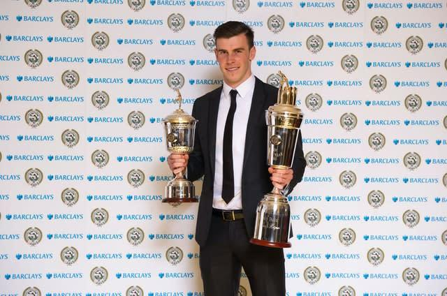Bale was player of the year when he left Spurs
