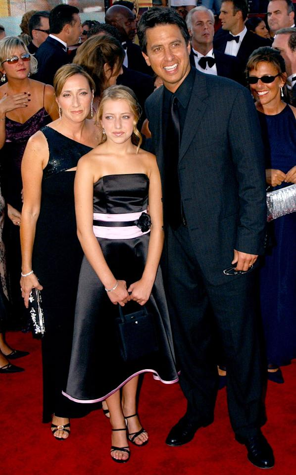 Ray Romano and family at The 55th Annual Primetime Emmy Awards.
