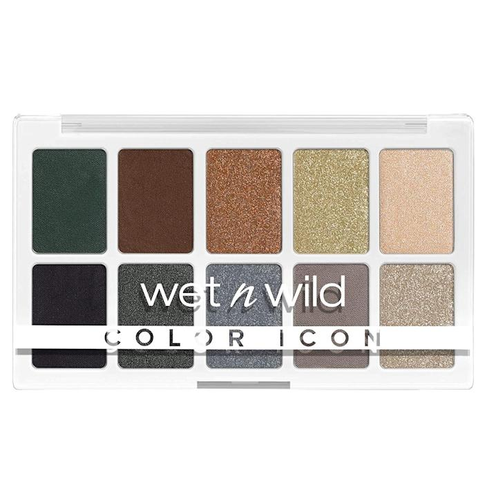 <p>Get creative with this affordable <span>Wet n Wild Color Icon 10-Pan Makeup Palette, Lights Off</span> ($5). You can tailor your looks to lean warm and cool-toned.</p>