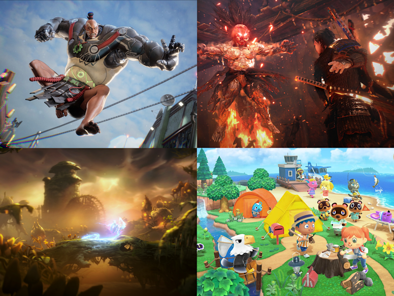 'Bleeding Edge', 'Nioh 2', 'Animal Crossing: New Horizons' and 'Ori and the Will of the Wisps' are among the year's standout releases: Ninja Theory/Sony/Nintendo/Xbox Game Studios