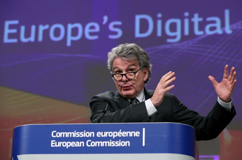 European Commission presents its data/digital strategy in Brussels