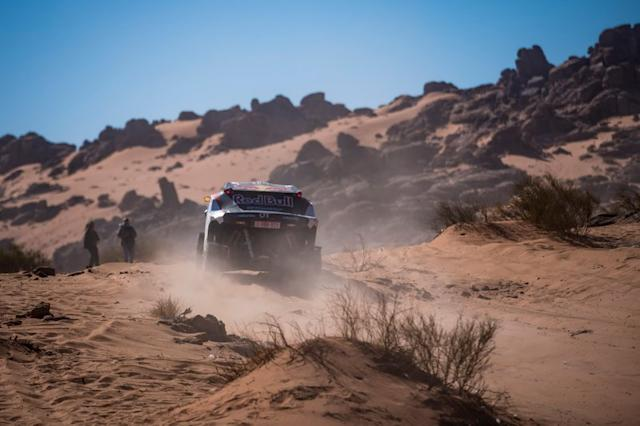 """#403 Red Bull Off-Road Team USA OT3: Cyril Despre, Mike Horn <span class=""""copyright"""">Red Bull Content Pool</span>"""