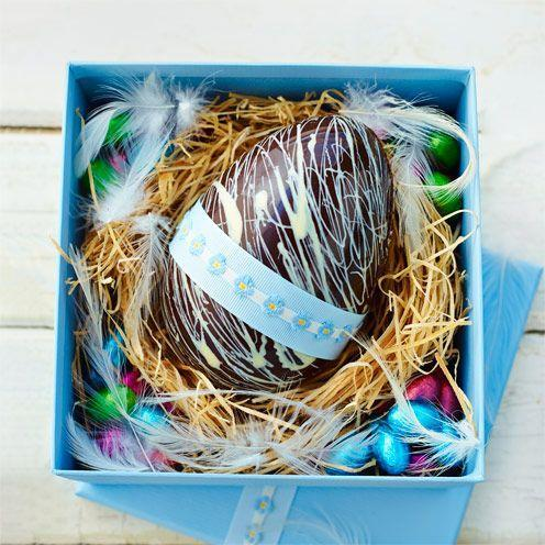 """<p>This year why not try and make your very own Easter egg!</p><p><strong>Recipe: <a href=""""https://www.goodhousekeeping.com/uk/easter/easter-recipes/a536897/home-made-easter-egg/"""" rel=""""nofollow noopener"""" target=""""_blank"""" data-ylk=""""slk:Home-made Easter Egg"""" class=""""link rapid-noclick-resp"""">Home-made Easter Egg</a></strong><br><br> </p>"""