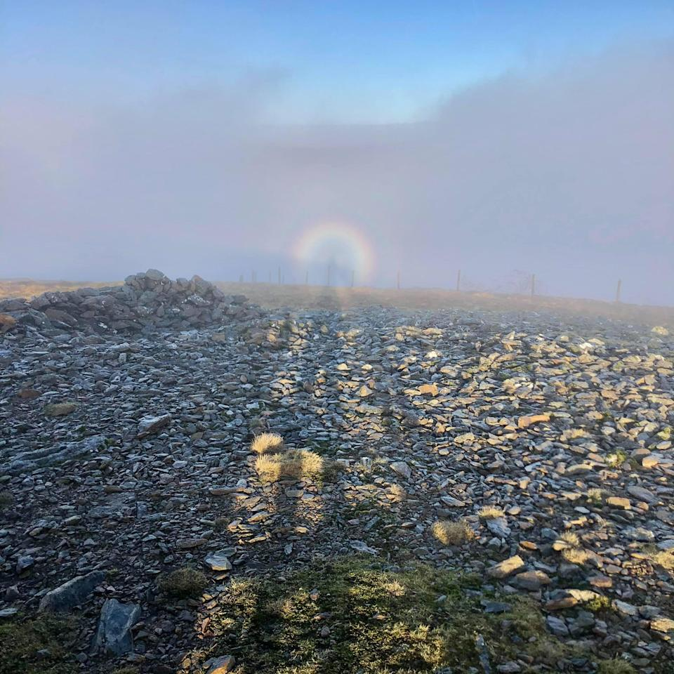 The term 'Brocken spectre' was founded in Germany in 1780