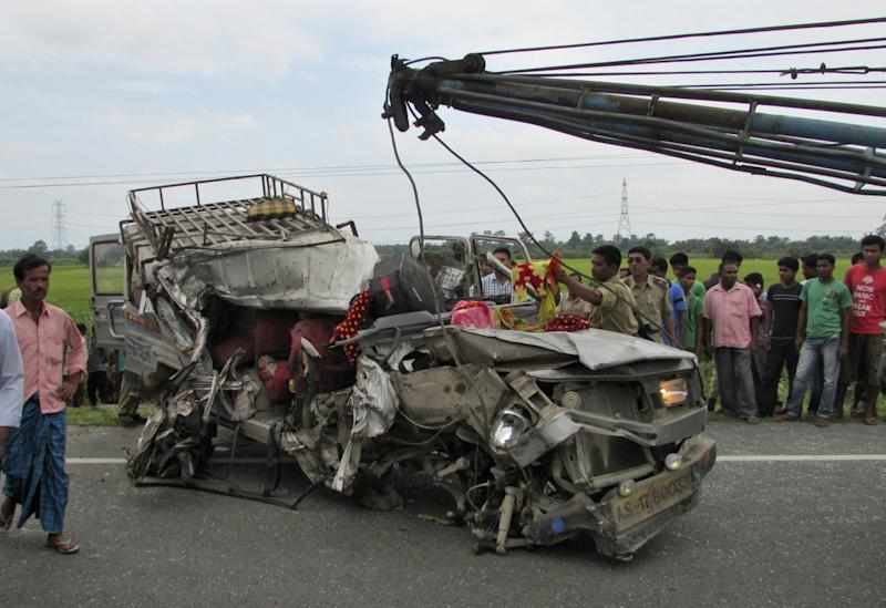 Andhra Pradesh accident: At least 20 killed, 10 critically injured in road mishap in Chittoor district