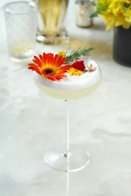 Mezcal Takes Center Stage in the Dama Blanca Cocktail at Mama Rabbit Bar at Park MGM in Las Vegas