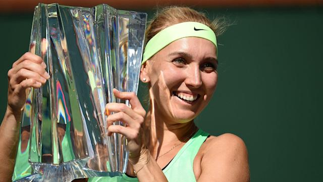 Having claimed the biggest singles title of her career at Indian Wells, Elena Vesnina revealed how close she came to giving it all up.