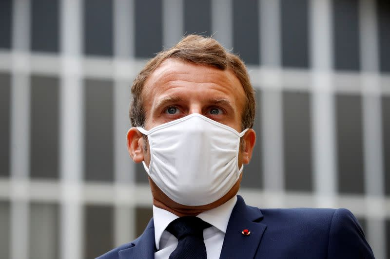 Macron says France's 5G strategy founded on European sovereignty