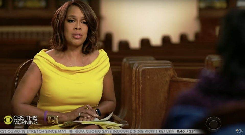 """Gayle King's interview with Cicely Tyson aired Jan. 26 on """"CBS This Morning."""" (Photo: CBS/YouTube)"""