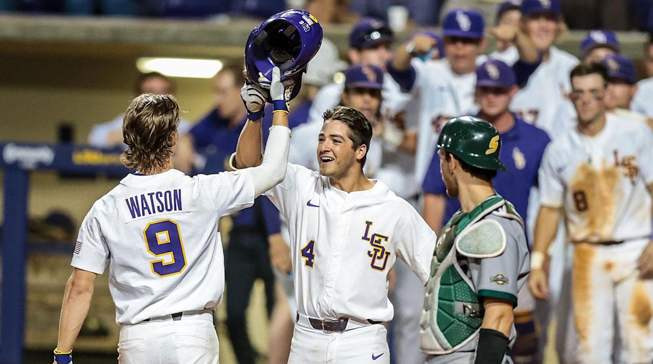 <p>The controlled chaos of the NCAA baseball tournament's opening weekend has subsided, leaving 16 teams left standing, many of which are well-versed in the heightened pressure that sets in once a trip to the College World Series is on the line.</p><p>For as many familiar faces as there are in this weekend's Super Regionals, only one national champion from this decade (Vanderbilt, the 2014 winner) has made it to the tournament's second weekend. The door has been left open for decorated programs like Florida and Florida State to get back to the College World Series and position themselves for another run at an elusive first national championship. The SEC has an outside chance at sending five teams through to college baseball's ultimate showcase. Meanwhile, Pac-12 powerhouse and No. 1 national seed Oregon State is one-step closer to a coronation—and the NCAA's single-season winning percentage record.</p><p>Each Super Regional is a best-of-three series hosted by the higher-seeded team, and each of this year's eight matchups is packed with star players and compelling storylines. Who will be booking flights to Omaha next week? Below, we take a series-by-series look at what's ahead:    </p><p><strong>No. 1 Oregon State vs. Vanderbilt</strong></p><p>Game 1: June 9, 9 p.m. ET, ESPN2</p><p>Game 2: June 10, 9 p.m. ET, ESPN</p><p>Game 3 (if necessary): June 11, Time/TV TBD</p><p><b>How They Got Here:</b> The Beavers did what you'd expect the best team in the country to do, outscoring Holy Cross and Yale (twice) by a total score of 27–3 on a leisurely stroll through the Corvallis Regional that boosted their season record to 52–4. As for the Commodores, they advanced by beating host Clemson twice in three games, including an 8-0 rout in the decisive game on June 5. Vanderbilt's MLB-bound stars showed up at the right time: Third baseman Will Toffey went 9-for-19 for the weekend and hit a pair of home runs in the clinching win to earn regional MVP honors; projected top-10 pick Jer