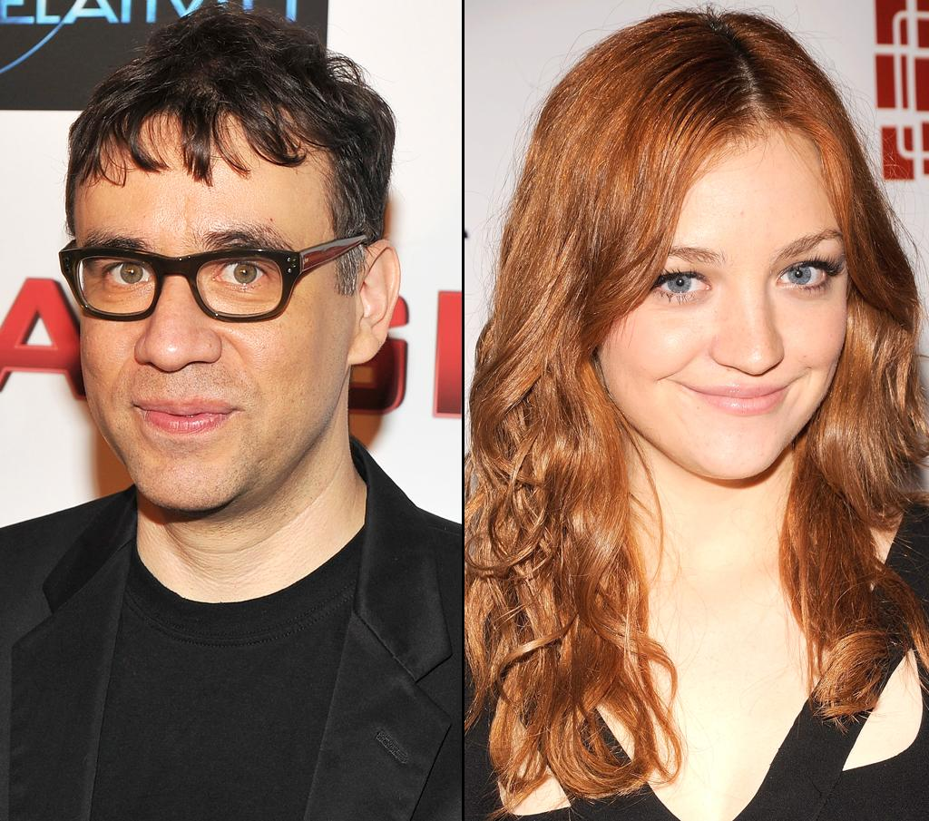 """""""SNL"""" co-stars Abby Elliott and Fred Armisen are said to be dating, now that his brief marriage to Elisabeth Moss is over. Theo Wargo/<a href=""""http://wireimage.com"""" target=""""_blank"""">WireImage.com</a> - May 19, 2010 and Gary Gershoff/<a href=""""http://wireimage.com"""" target=""""_blank"""">WireImage.com</a> - February 20, 2010"""