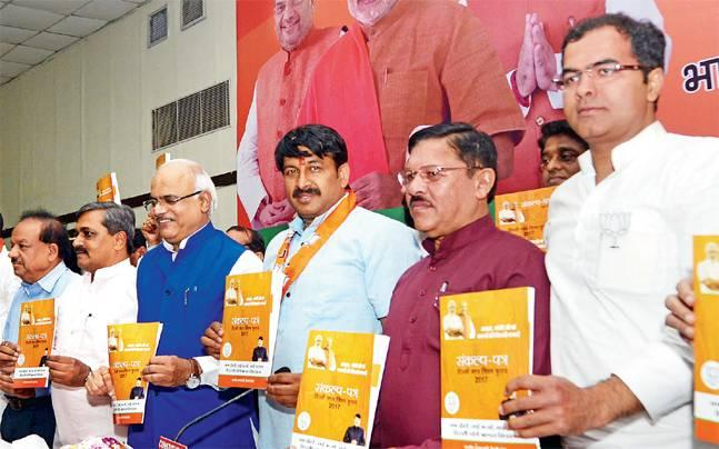 Did lack of new promises led to BJP's hurried but timely MCD polls manifesto release?