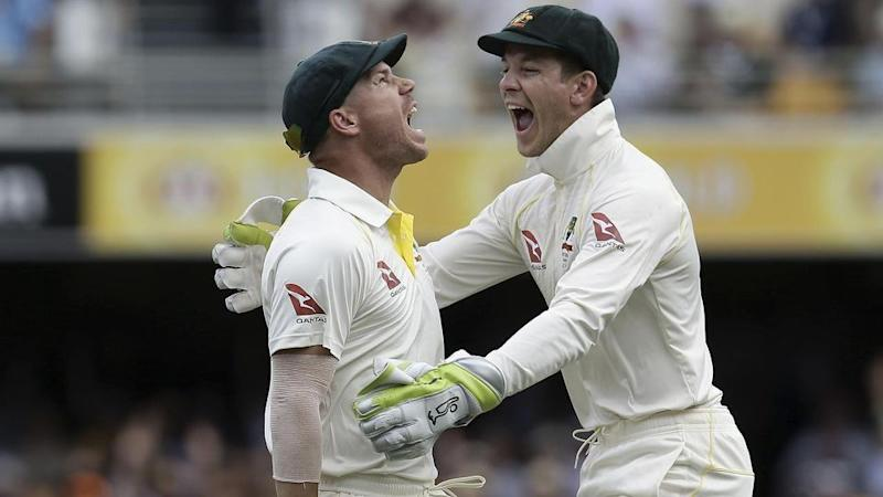 Paine strongly denies Warner resorted to personal sledging. Pic: Getty