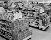 "<p>People <a href=""https://spoonuniversity.com/lifestyle/the-most-popular-food-trends-in-the-past-50-decades"" rel=""nofollow noopener"" target=""_blank"" data-ylk=""slk:stocked up on non-perishable foods"" class=""link rapid-noclick-resp"">stocked up on non-perishable foods</a> during the Cold War era in case of a bombing. But the idea of canned food stretched far beyond just beans and soup and included everything from asparagus to pineapple. </p>"