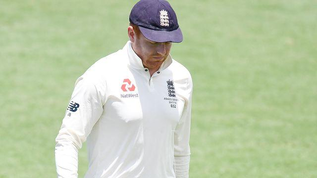 Bairstow trudges off. Image: Getty