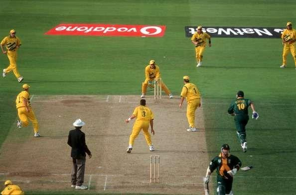 South Africa threw away their WC hopes with a disastrous run-out in the 1999 World Cup semi-final