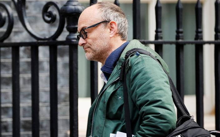 Once again, Tory knives are out for Boris Johnson's chief adviser, Dominic Cummings - John Sibley/Reuters
