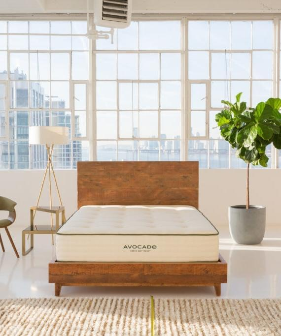 """<h2>Mattresses</h2><br><h3>Avocado Green Mattress<br></h3><br>Yes, Avocado mattresses are all-natural — and no, they're not too expensive. These extra cushy mattresses are made with totally organic materials and feel as luxurious as their far-pricier competitors. Plus they're good for your conscience, which we hear helps with sleep.<br><br><em>Shop</em> <strong><em><a href=""""https://www.avocadogreenmattress.com/products/green-natural-organic-mattress?variant=twin"""" rel=""""nofollow noopener"""" target=""""_blank"""" data-ylk=""""slk:Avocado"""" class=""""link rapid-noclick-resp"""">Avocado</a></em></strong> <strong><em><a href=""""https://www.avocadogreenmattress.com/products/green-natural-organic-mattress?variant=twin"""" rel=""""nofollow noopener"""" target=""""_blank"""" data-ylk=""""slk:Mattress"""" class=""""link rapid-noclick-resp"""">Mattress</a></em></strong><br><br><br><strong>Avocado</strong> Avocado Green Mattress, $, available at <a href=""""https://go.skimresources.com/?id=30283X879131&url=https%3A%2F%2Fwww.avocadogreenmattress.com%2Fshop%2Favocado-mattress%2F%3Fvariant%3Dfull"""" rel=""""nofollow noopener"""" target=""""_blank"""" data-ylk=""""slk:Avocado"""" class=""""link rapid-noclick-resp"""">Avocado</a>"""