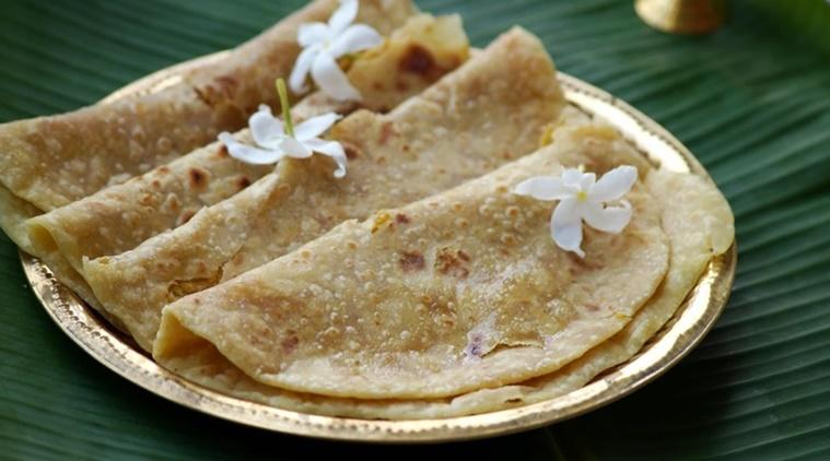gudi padwa, maharashtrian dishes, puran poli recipes, how to make puran poli with atta, diabetes-friendly puran poli, gudi padwa dishes, indianexpress.com, indianexpress, shilpa shetty recipes, maharashtra special dishes,