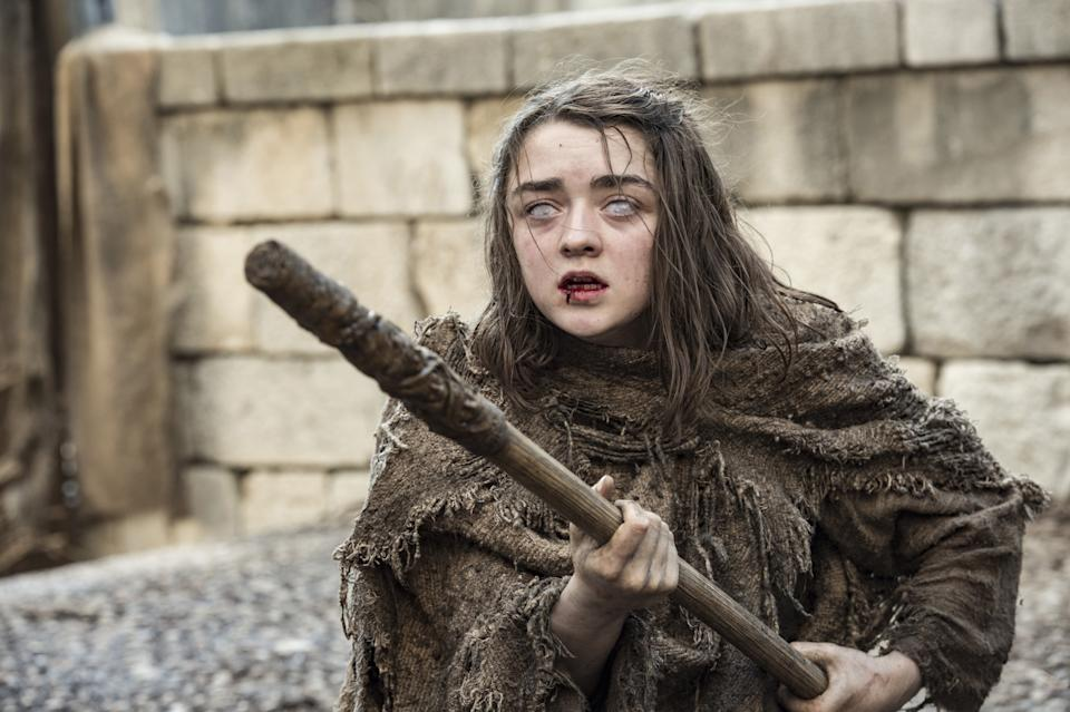 Maisie Williams insists that she loved the ending of Game Of Thrones (Image by HBO)