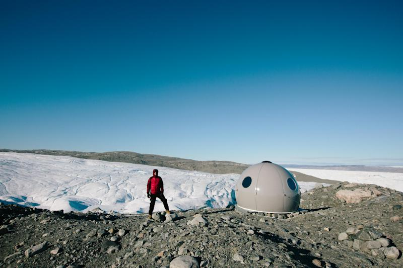 The team have travelled all around the world to the frontines of climate change (Earthrise)