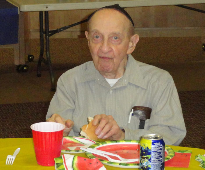 """<p>Melvin Wax, 88, was always the first to arrive at New Light Congregation, which rented space in the lower level of Tree of Life, and the last to leave. """"He was a gem. He was a gentleman,"""" recalled fellow congregant Barry Werber. """"There was always a smile on his face."""" Myron Snider remembered """"Mel"""" as a friend who would stay late to tell jokes with him, a retired accountant who was unfailingly generous, and a pillar of the congregation, filling just about every role except cantor. Wax lost his wife, Sandra, in 2016. (Photo: Barry Werber via AP) </p>"""