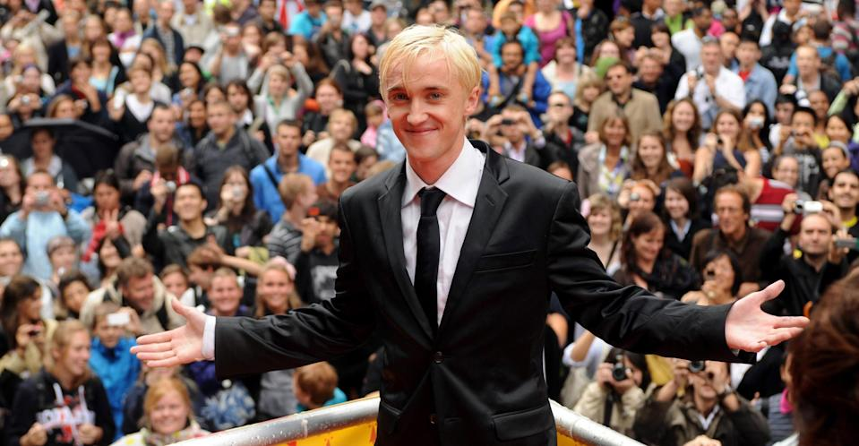 Felton in 2009 at the Harry Potter and the Half-Blood Prince London premiere (PA Images).