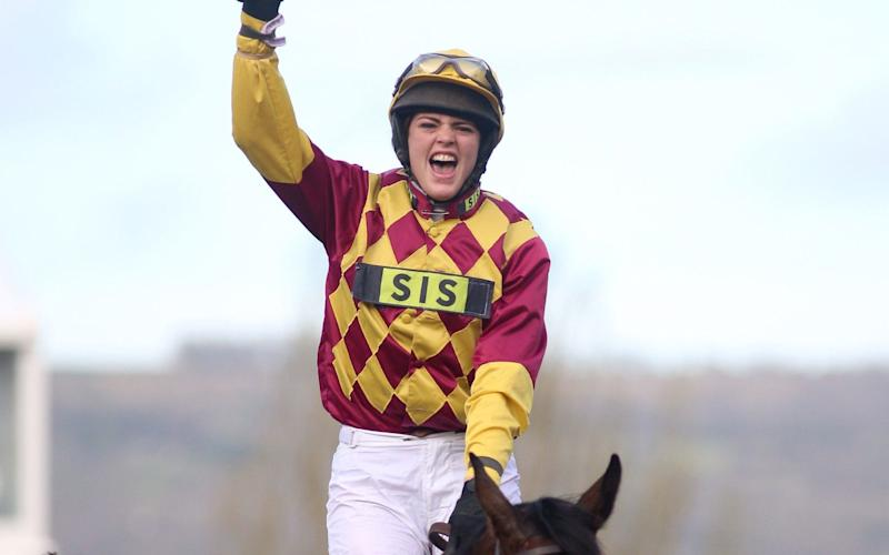 Lizzie Kelly rode Siruh Du Lac to victory at the 2019 Cheltenham Festival - PA