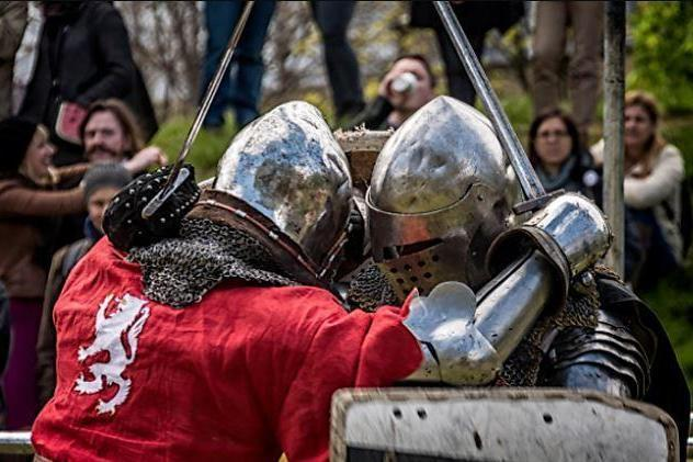 Battle it out: Combat at the Vauxhall Pleasure Gardens