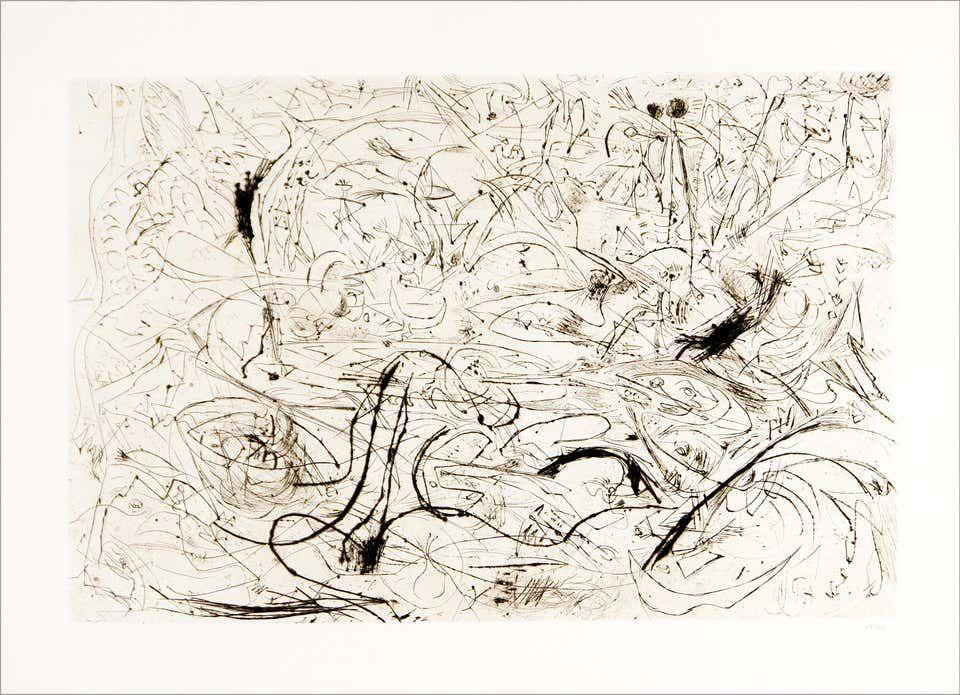 """<p><strong>Jackson Pollock</strong></p><p>1stdibs.com</p><p><strong>$22500.00</strong></p><p><a href=""""https://go.redirectingat.com?id=74968X1596630&url=https%3A%2F%2Fwww.1stdibs.com%2Fart%2Fprints-works-on-paper%2Fabstract-prints-works-on-paper%2Fjackson-pollock-untitled%2Fid-a_3130971%2F&sref=https%3A%2F%2Fwww.townandcountrymag.com%2Fstyle%2Fcollectibles%2Fg34288980%2Fwhat-to-buy-1stdibs-fall-2020-sale%2F"""" rel=""""nofollow noopener"""" target=""""_blank"""" data-ylk=""""slk:Shop Now"""" class=""""link rapid-noclick-resp"""">Shop Now</a></p><p>Jackson Pollock's moody evocative swirls feel very apropos for 2020 (and always). </p>"""